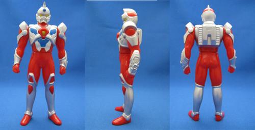 03電光超人グリッドマン3面図